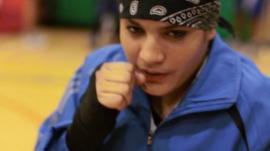 Boxer Sadaf Rahimi