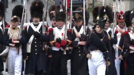 Napoleonic soldiers