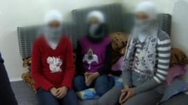 Girls from Deraa