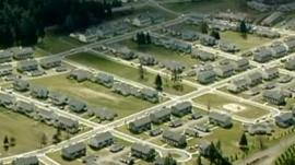 Lewis McChord military facility