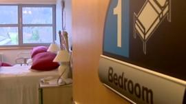 Bedroom designed for person with dementia