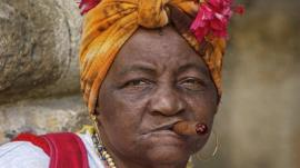 Cigar Lady, by Chip Cooper