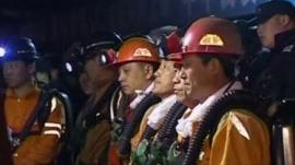 Chinese rescuers