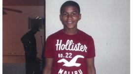 Trayvon Martin, the unarmed black teenager shot dead in Orlando