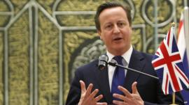 David Cameron is touring South Asia