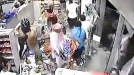 Looting in Bahrain
