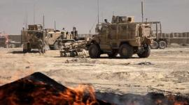 US troops close base in Afghanistan
