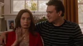 Emily Blunt and Jason Segel