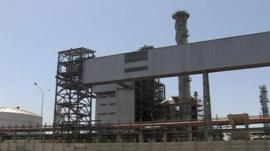 Egyptian fertiliser factory