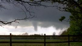 Tornado near Kidlington