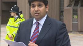 Alias Yousaf, lawyer for Adil Khan