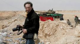 Anton Hammerl in Libya