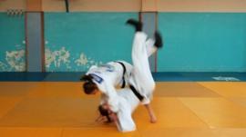 Judo combat