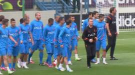 Netherlands players