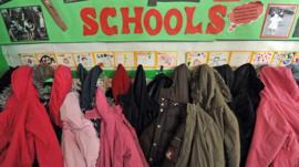 Primary school children's coats