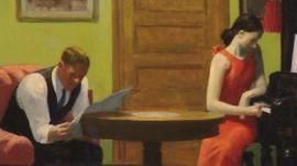 A painting by US artist Edward Hopper