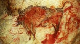 Cave art at Altamira