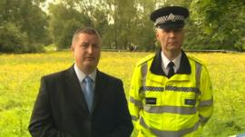 Chief Inspector Kerry Blakeman and DCI Matt Markham of Coventry police