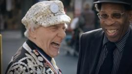 Peckham's Pearly King on the streets