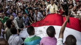 Supporters of the Muslim Brotherhood