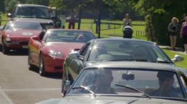 Longleat in Wiltshire hosts charity car event