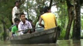 People in boat