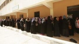 Voting queue