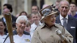 Queen at Windsor