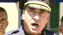 Aurora Police Chief Daniel Oates