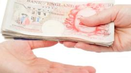 bank note exchange