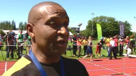 Ludlow Watts, manager of the Jamaican Olympic team