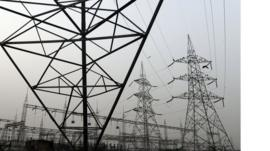 Electricity transmission lines in India