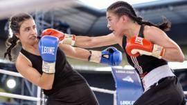 Female boxers