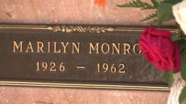 Marilyn Monroe plaque