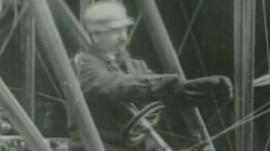 Samuel Cody was the first person to pilot a powered flight in Britain