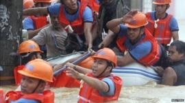 Marikina flood rescue