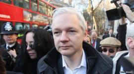 Julian Assange - file photo