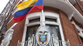 Ecuador Embassy in London
