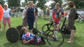 Paralympic cyclists