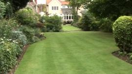 Dr Ogg's lawn