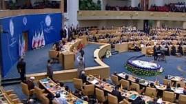 Non-Aligned Movement summit in Tehran