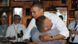 President Obama and Scott Van Duzer