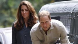 Duke and Duchess of Cambridge in Borneo
