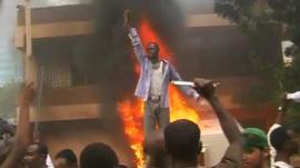 Protest against anti-Islam film