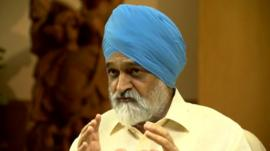 Montek Singh Ahluwalia, India's Planning Commission
