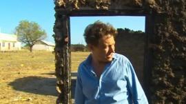 The BBC's Gabriel Gatehouse in Kenya's coastal Tana Delta region