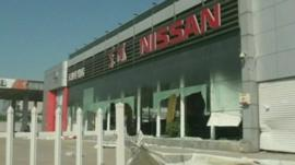 Nissan building in China