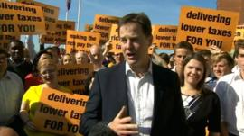Nick Clegg ahead of Liberal Democrat conference