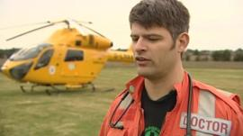 Nick Foster, Magpas Helimix doctor