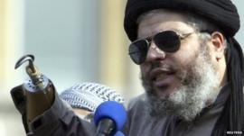 Abu Hamza - file photograph